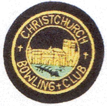 The badge depicts Christchurch Priory. The first turfs for the green were laid in 1924 and the club opened for play in 1925. It was an all male domain until 1989 when permission was given for a small ladies section. Five ladies put £5.00 into a kitty to get started and the membership continued to grow. In 1999, at the men's suggestion, the club became mixed and in 2000 the club selected their first Lady President.