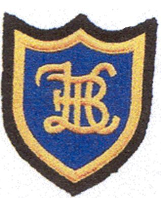 The badge emblem is made up of the initials of the club. The club was formed in 1927 as a male only club with a membership of twenty nine. In 1974 the ladies section was formed with ten ladies and they joined the leagued the following year. The new clubhouse was built with the help of lottery funding and opened in July 1975.